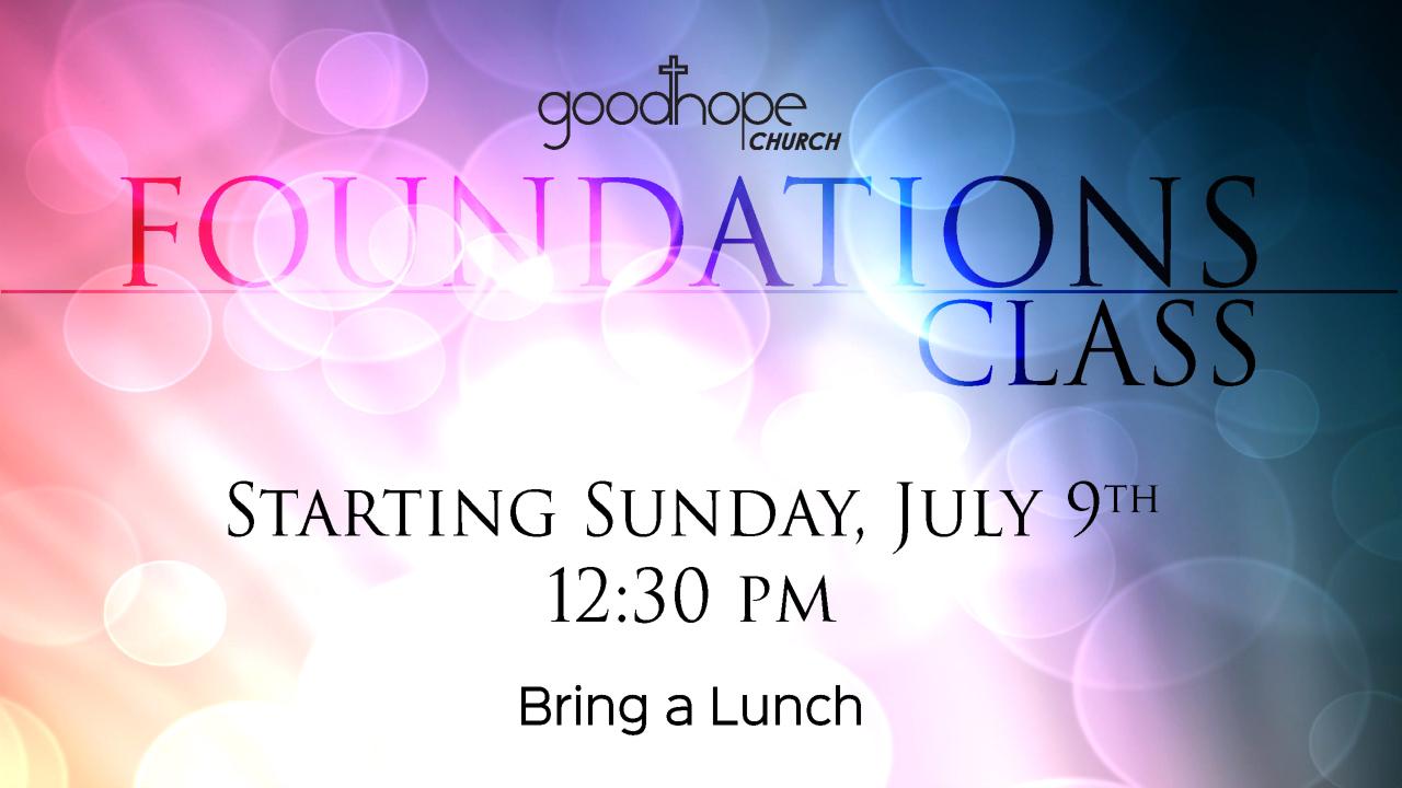 Foundations Class
