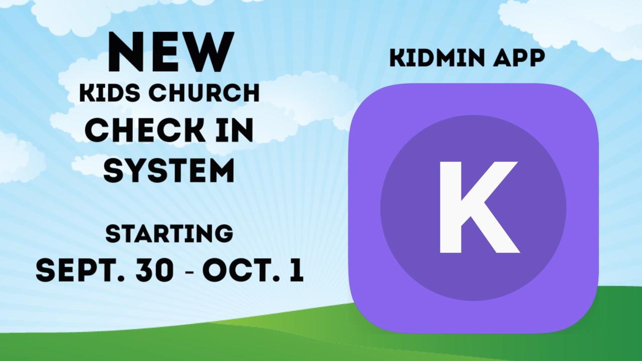 KidMin App