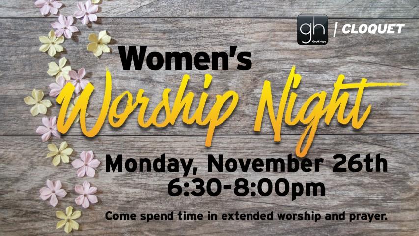 Womens Worship Night