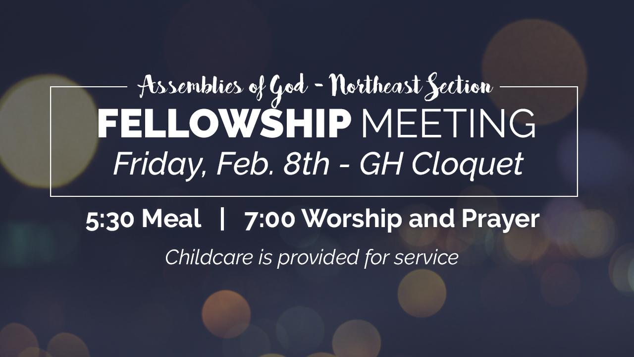 Section Fellowship Meeting