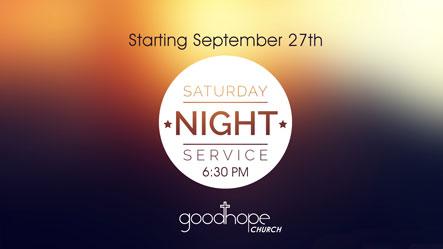 Sat. Night Service