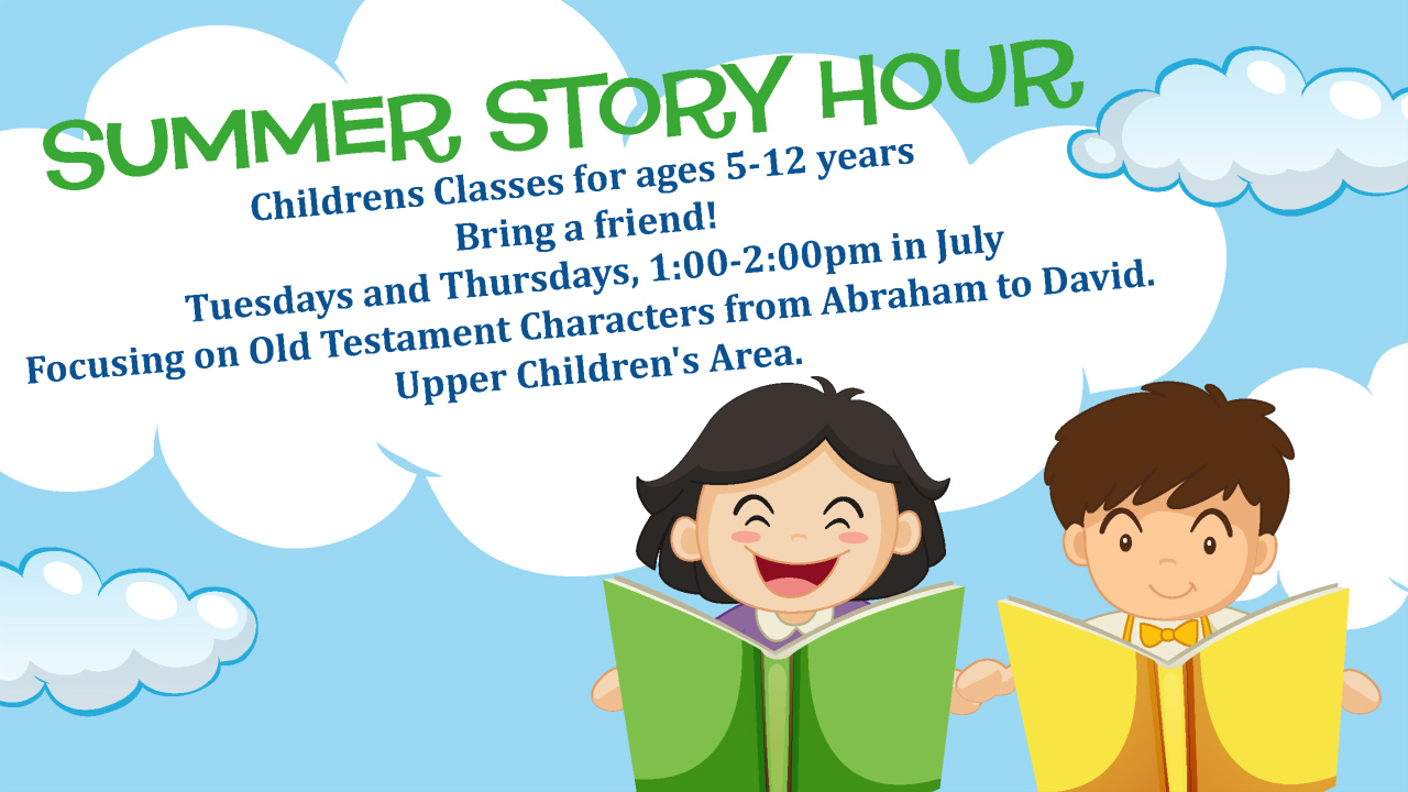 Summer Story Hour