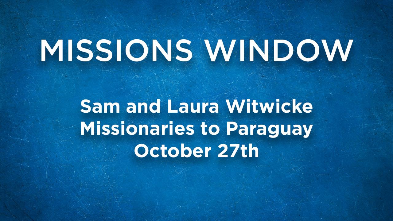 Missions Window